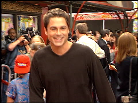 Rob Lowe at the 'Pokemon The First Movie' Premiere at Grauman's Chinese Theatre in Hollywood California on November 6 1999