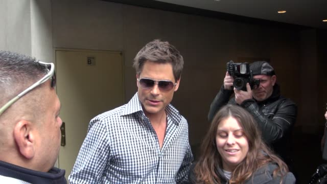 Rob Lowe at the 'TODAY' show studio in New York NY on 4/25/2012