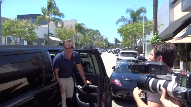 rob lowe shopping in beverly hills in celebrity sightings in los angeles - rob lowe stock videos & royalty-free footage