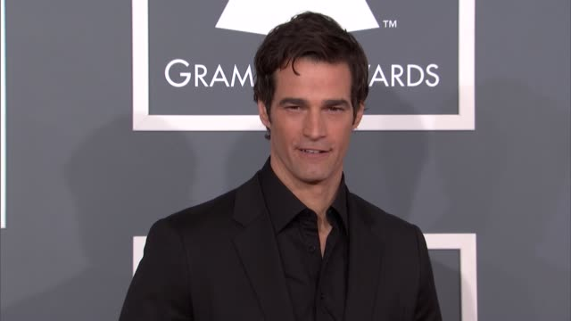 rob marciano at the 55th annual grammy awards arrivals in los angeles ca on 2/10/13 - grammy awards stock videos and b-roll footage