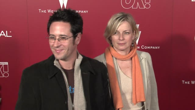 rob morrow and deborah ayer at the 2006 weinstein company preoscar party at the pacific design center in west hollywood california on march 4 2006 - pre party stock videos and b-roll footage