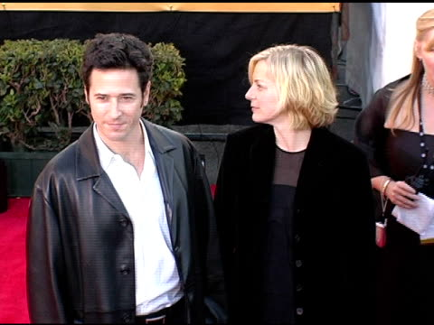 rob morrow and devon aire at the 2005 screen actors guild sag awards arrivals at the shrine auditorium in los angeles, california on february 5, 2005. - shrine auditorium stock videos & royalty-free footage