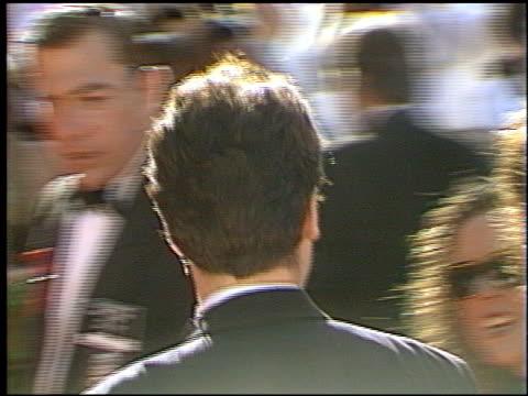 Rob Morrow at the 1993 Emmy Awards entrances and Press Room at the Pasadena Civic Auditorium in Pasadena California on September 19 1993