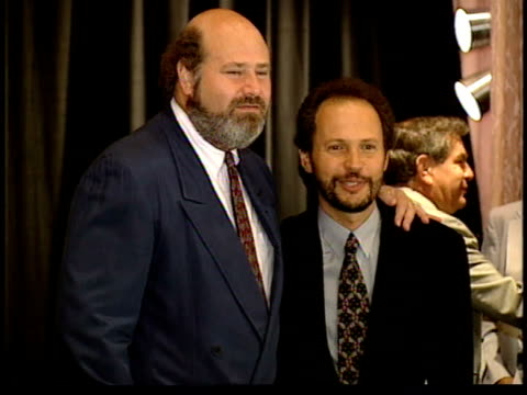 rob reiner and billy crystal on the red carpet - billy crystal stock videos & royalty-free footage