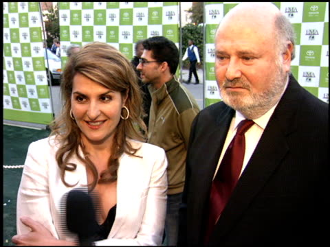 rob reiner at the environmental media awards at wilshire ebell theatre in los angeles, california on october 1, 2005. - environmental media awards stock-videos und b-roll-filmmaterial