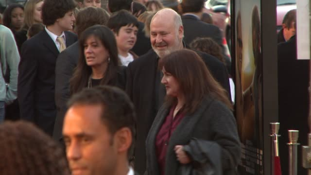 rob reiner at the 'the bucket list' premiere at the cinerama dome at arclight cinemas in hollywood, california on december 16, 2007. - bucket list stock videos & royalty-free footage