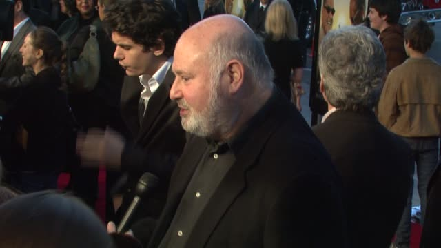 rob reiner at the 'the bucket list' premiere at the cinerama dome at arclight cinemas in hollywood california on december 16 2007 - arclight cinemas hollywood stock videos and b-roll footage