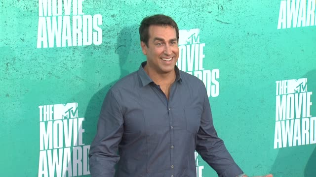 rob riggle at 2012 mtv movie awards - arrivals at gibson amphitheatre on june 03, 2012 in universal city, california - gibson amphitheatre stock-videos und b-roll-filmmaterial