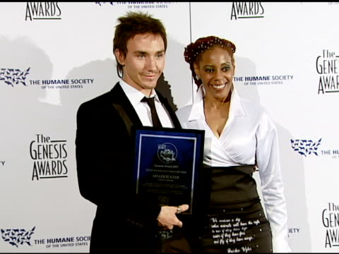 Rob Stewart and Debra WilsonSkelton at the 2008 Genesis Awards at the Beverly Hilton in Beverly Hills California on March 30 2008