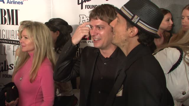 Rob Thomas and Lisa Hartman Black at the 2009 Songwriters Hall of Fame 40th Anniversary Induction Ceremony and Gala at New York NY