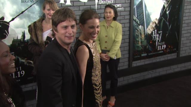 Rob Thomas and Marisol Maldonado at the 'Harry Potter And The Deathly Hallows Part 1' New York Premiere at New York NY