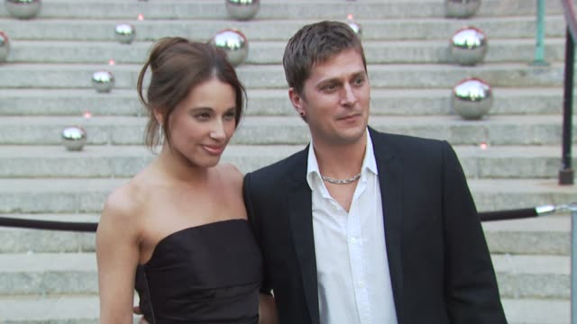 Rob Thomas and Marisol Thomas at the 9th Annual Tribeca Film Festival Vanity Fair Party at New York NY