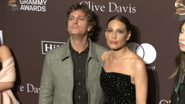 Rob Thomas and Marisol Thomas at the Clive Davis' and the Recording Academy's PreGRAMMY Gala at The Beverly Hilton Hotel on February 09 2019 in...