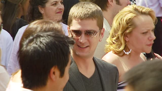 Rob Thomas and Nicole Sullivan at the 'Meet The Robinsons' Premiere at the El Capitan Theatre in Hollywood California on March 25 2007