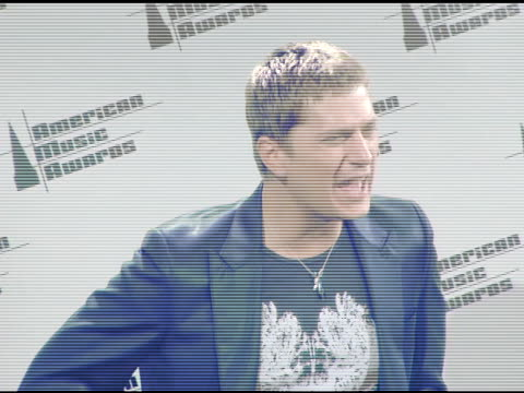 Rob Thomas at the 2005 American Music Awards press room at the Shrine Auditorium in Los Angeles California on November 22 2005