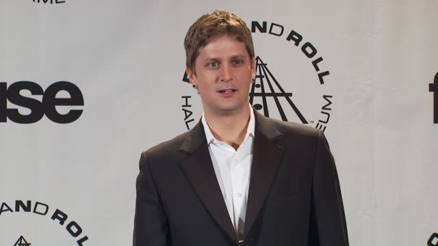 Rob Thomas at the 25th Annual Rock And Roll Hall Of Fame Induction Ceremony Press Room at New York NY