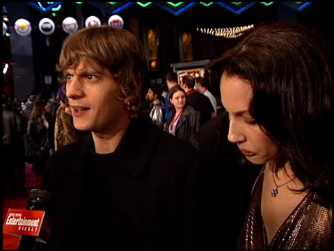 Rob Thomas at the 'All Access' Imax Premiere at Universal CityWalk in Universal City California on February 18 2001