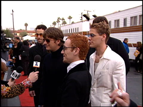 Rob Thomas at the American Music Awards 1998 at the Shrine Auditorium in Los Angeles California on January 26 1998