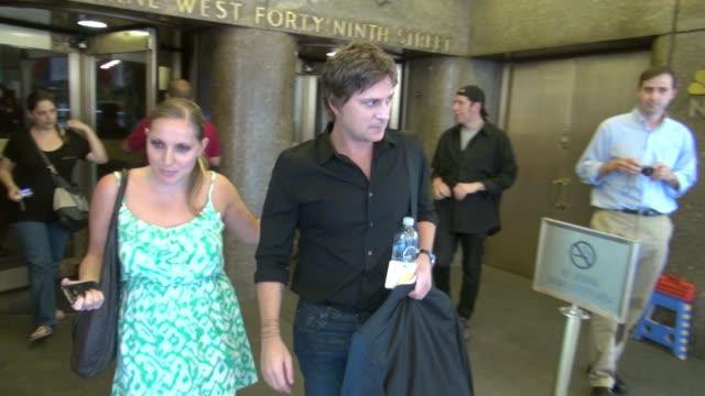 Rob Thomas at the NBC studio in New York NY on 07/12/12