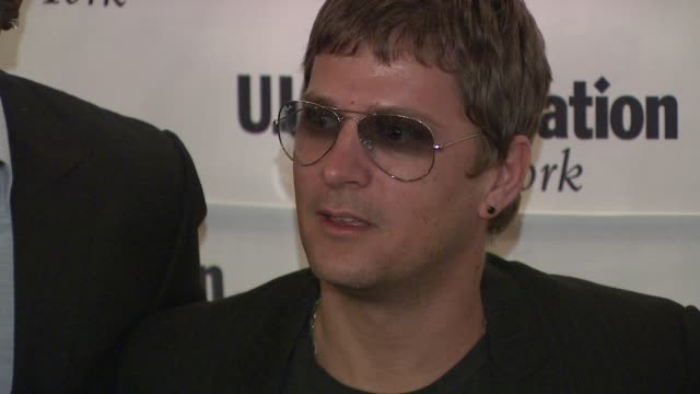 Rob Thomas at the UJAFederation's Music Visionary of the Year Award Luncheon at New York NY