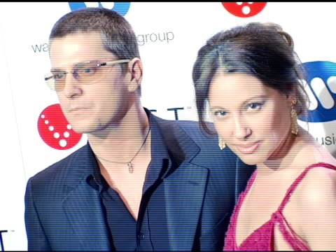 Rob Thomas at the Warner Music Group's PostGrammy Party at Pacific Design Center in West Hollywood California on February 13 2005