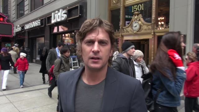 Rob Thomas in Times Square Rob Thomas in Times Square on March 06 2013 in New York New York