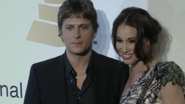 Rob Thomas Marisol Thomas at the The Recording Academy Clive Davis Present The 2010 PreGrammy Gala at Beverly Hills CA