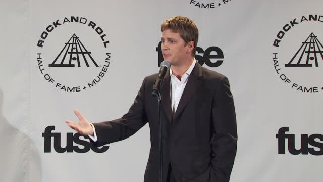 Rob Thomas on tonight being refreshing in all invitees being fans watching their favorite acts instead of killing each other as usual at the 25th...