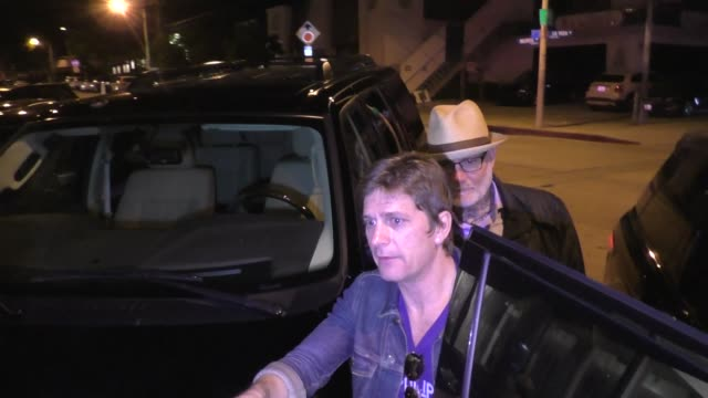 Rob Thomas signs for fans outside Craig's in West Hollywood in Celebrity Sightings in Los Angeles