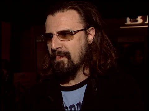 rob zombie at the bmg grammy awards party at avalon in hollywood california on february 8 2004 - rob zombie stock videos & royalty-free footage