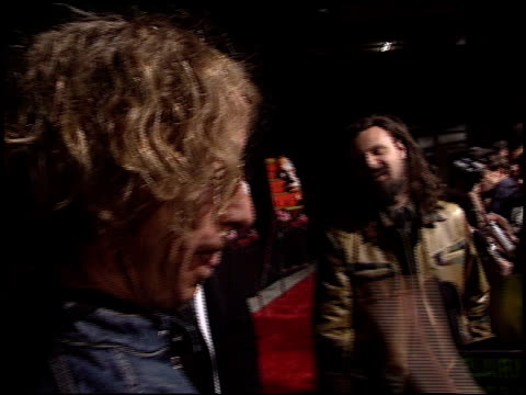 rob zombie at the 'house of 1000 corpses' premiere at arclight cinemas in hollywood california on april 9 2003 - rob zombie stock videos & royalty-free footage