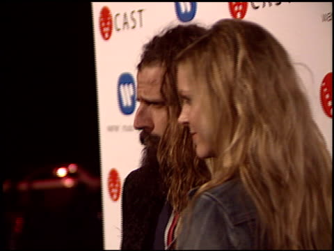 rob zombie at the warner brothers grammy awards party at pacific design center in west hollywood california on february 13 2005 - rob zombie stock videos & royalty-free footage