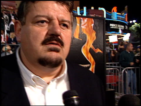 Robbie Coltrane at the Premiere of 'The World is not Enough' on November 8 1999