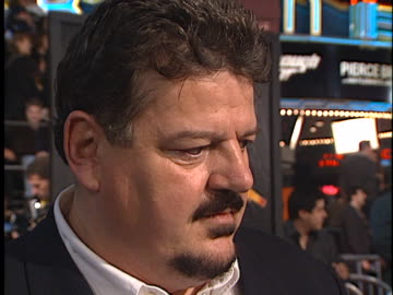 vidéos et rushes de robbie coltrane at the world is not enough, the, premiere at westwood in westwood, ca. - robbie coltrane