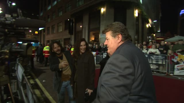 Robbie Coltrane on the pronunciation of Belgrade at the London Film Festival The Brothers Bloom at London