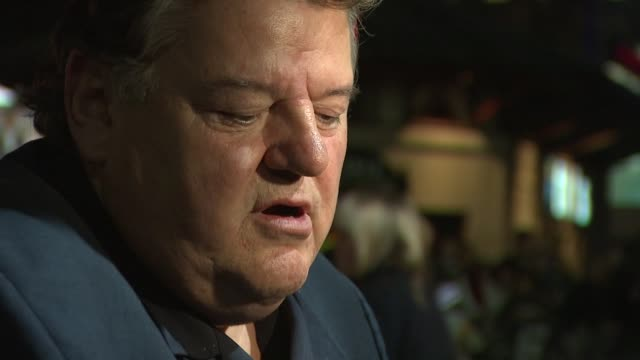 Robbie Coltrane short interview on premise of story at the London Film Festival The Brothers Bloom at London