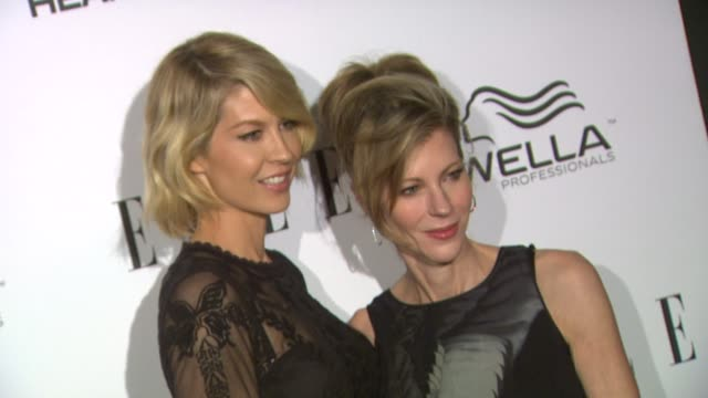 Robbie Myers Jenna Elfman at Elle's 2nd Annual 'Women In Television' Celebration 1/24/2013 in West Hollywood CA