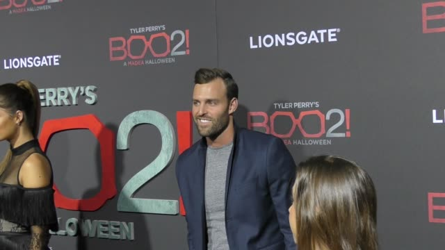 Robby Hayes at Lionsgate Presents The Los Angeles Premiere of Tyler Perry's 'Boo 2 A Madea Halloween' at LA LIVE on October 16 2017 in Los Angeles...