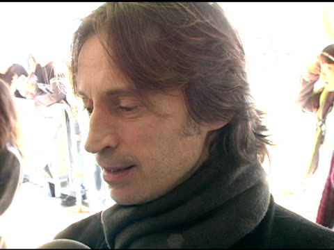 robert carlyle at the 2005 sundance film festival 'marilyn hotchkiss ballroom dancing and charm school' premiere at the eccles theatre in park city,... - robert carlyle stock videos & royalty-free footage