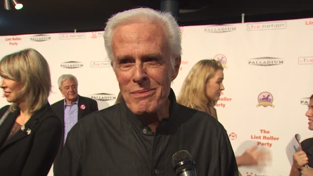Robert Culp on attending tonight's event at the 16th Annual Lint Roller Party at Hollywood CA