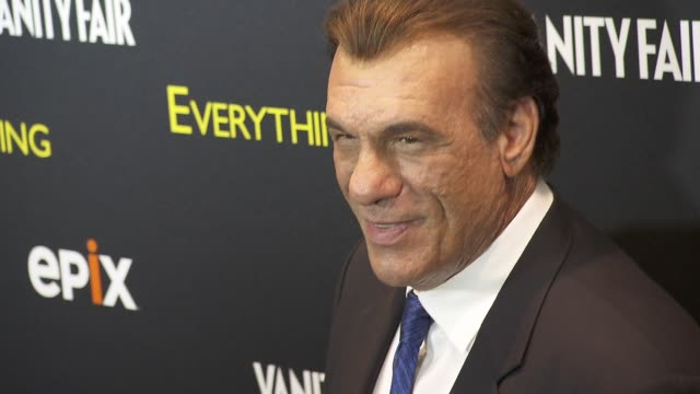 """robert davi at epix and vanity fair present the premiere of """"everything or nothing: the untold story of 007"""" at moma and metropolitan club at moma on... - robert davi stock videos & royalty-free footage"""