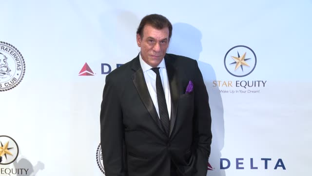 robert davi at friars club honors tony bennett with the entertainment icon award at new york sheraton hotel & tower on june 20, 2016 in new york city. - robert davi stock videos & royalty-free footage
