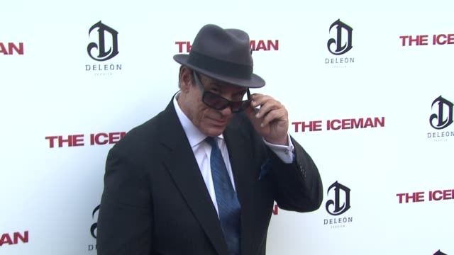 robert davi at the iceman los angeles premiere 4/22/2013 in hollywood ca - robert davi stock videos and b-roll footage
