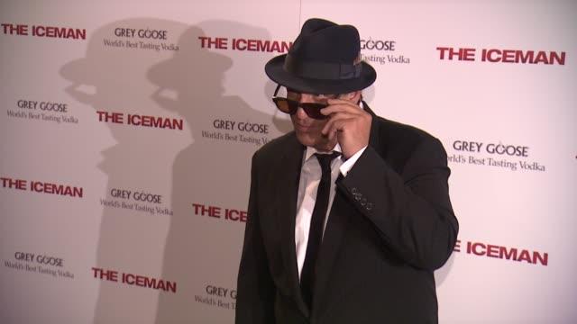 "robert davi at ""the iceman"" new york screening at chelsea clearview cinema on april 29, 2013 in new york, new york - robert davi stock videos & royalty-free footage"
