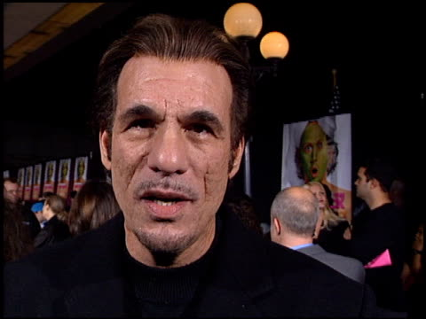 robert davi at the premiere of 'the hot chick' at leow's cineplex in century city california on december 2 2002 - robert davi stock videos and b-roll footage