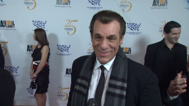 robert davi on the event pets at the the 25th anniversary genesis awards presented by the humane society of the united states at century city ca - robert davi stock videos and b-roll footage