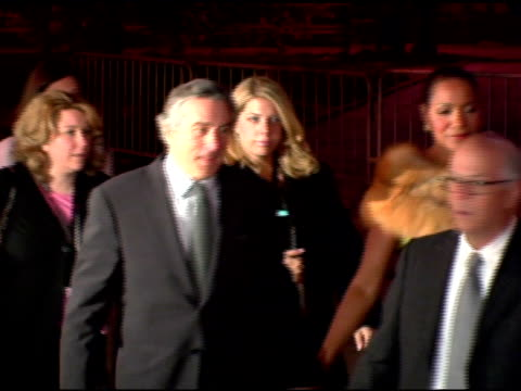 Robert De Niro and Grace Hightower at the 2006 Tribeca Film Festival Vanity Fair Party at State Supreme Courthouse in New York New York on April 26...