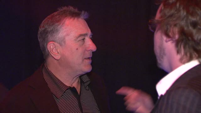 Robert De Niro at the Righteous Kill Premiere After Party at New York NY