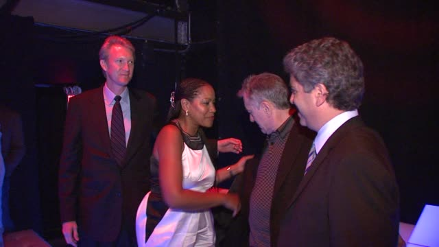 Robert De Niro Grace Hightower at the Righteous Kill Premiere After Party at New York NY