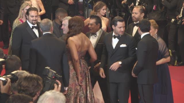 Robert De Niro Usher Grace Hightower Ana de Armas Harvey Weinstein Edgar Ramirez Roberto Duran at 'Hands of Stone' Special Screening Tribute at Grand...